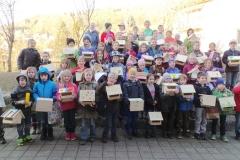 7.März 2015 - Vogelhüsli bauen
